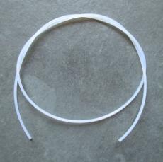 Stabmaterial 1,0 mm / weiß Meterware