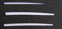 PTFE Dehnstäbe / Einführstäbe 1,2 - 4 mm