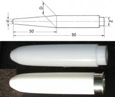 PTFE Dehnstäbe / Einführstäbe 5  - 30 mm für Tunnel