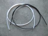 Stabmaterial 1,2 mm / weiß oder schwarz Meterware