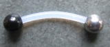 PTFE-Bananabell  1,0 mm mit Stahlkugeln